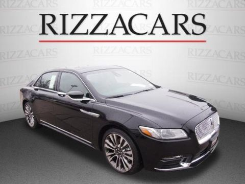 New 2017 LINCOLN CONTINENTAL Reserve with Navigation